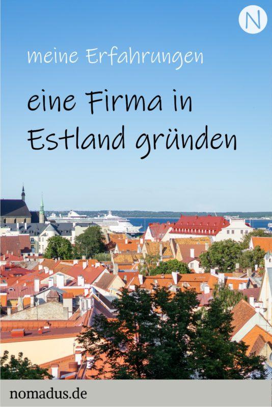 Erfahrungen mit meiner Firma in Estland